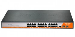 Коммутатор TG-NET P3026M-24PoE-300W-V3
