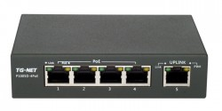 Коммутатор TG-NET P1005D-4PoE-60W
