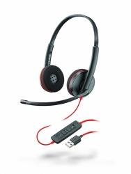 Проводная гарнитура Plantronics BlackWire C3220-A (стерео, USB-A)