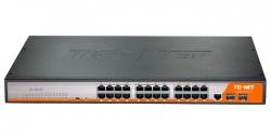 Управляемый коммутатор TG-NET P3026M-24PoE-450W-V4
