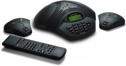 Konftel 200, ТА для конференц-связи, ЖКД, подключение к ISDN (BRI) линии.