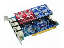 Плата для Asterisk Atcom AX-400P (4FXO/4FXS)