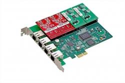 Плата для Asterisk Atcom AXE-400P (4FXO/4FXS)