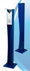 Напольный локтевой дозатор для антисептика Albix AS01