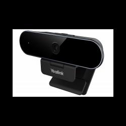 USB-видеокамера Yealink UVC20 (FHD 5МП EPTZ, встроенный микрофон, SmartLight, шторка, AMS 2 года)
