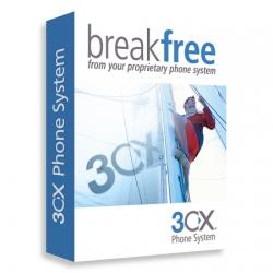3CX Phone System 128SC  подписка на 1 год обновлений