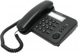 Проводной телефон PANASONIC KX-TS2352RUB, черный