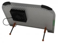 Подставка для ноутбука CRF104XL MiniFit XL, 300х250мм, цвет серебряный