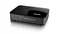 ZyXEL GS-105S EE, пятипортовый коммутатор Gigabit Ethernet с приоритетными портами