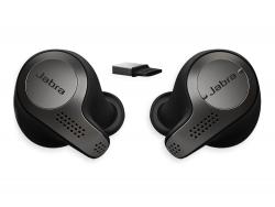 Гарнитура Jabra Evolve 65t, Titanium Black, Bluetooth, Link 370, MS