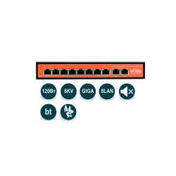 Коммутатор неуправляемый Wi-Tek WI-PS308G v2