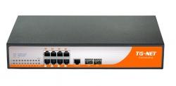 Управляемый коммутатор TG-NET P3010M-8PoE-150W