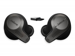 Гарнитура Jabra Evolve 65t, Titanium Black, Bluetooth, Link 370, UC
