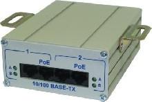Инжектор 2-портовый FSE-2H (удвоенная мощность)  шнур сетевой 220В (1 м)