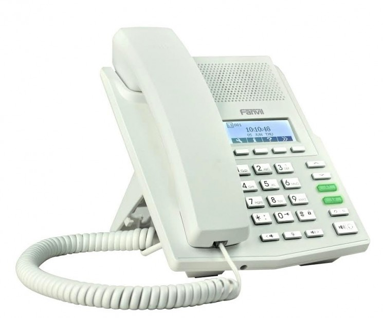 IP телефон Fanvil X3P, белый