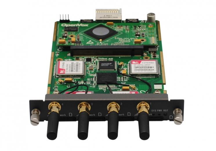 Модуль OpenVox VS-GWM400G (4GSM канала)