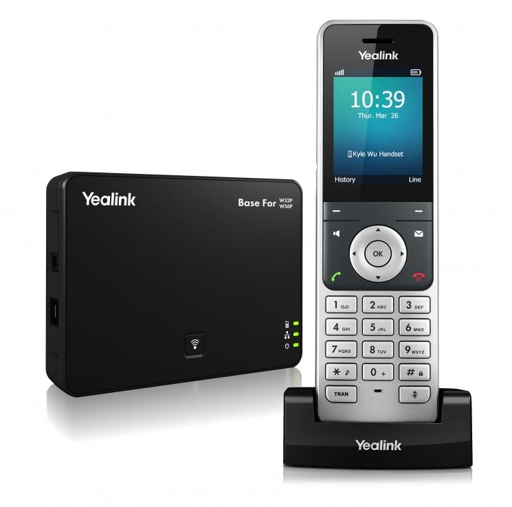 IP телефон Yealink W56P DECT (база+трубка)
