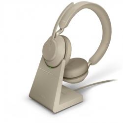 Гарнитура Jabra Evolve2 65, Link380a MS Stereo Stand Beige