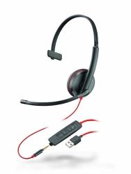 BlackWire C3215-A - проводная гарнитура (jack 3.5/USB-A)