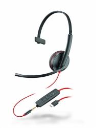BlackWire C3215-C - проводная гарнитура (jack 3.5/USB-C)