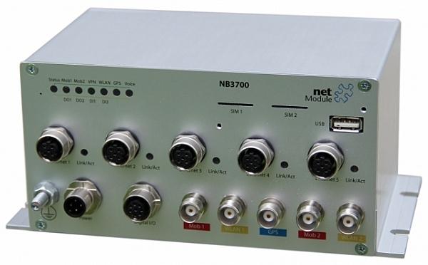 Маршрутизатор Netmodule 3700-2UW-G (2 модуля UMTS, WLAN роутер с GPS)