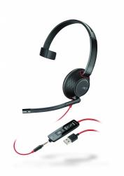 BlackWire C5210-A - проводная гарнитура (jack 3.5/USB-A)