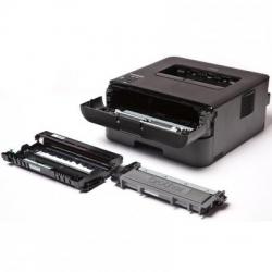 Принтер Brother HL-L2340DWR, A4, 32Мб, 26стр/мин, GDI, дуплекс, WiFi, USB, старт.картридж 700стр, 3г