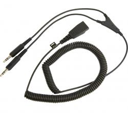 Шнур QD на 2x 3.5 мм, витой, 0.5 - 2 м (для GN2100, GN2000, GN2200)