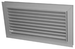 Решетка переточная вентиляционная АП 300х150