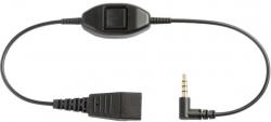 Шнур QD на 3.5 мм. Кнопка ответа для Alcatel 8 и 9 серий
