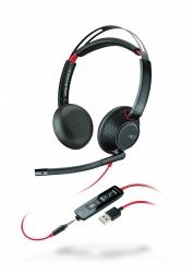 BlackWire C5220-A - проводная гарнитура (jack 3.5/USB-A)