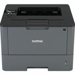 Принтер Brother HL-L5200DW, A4, 40 стр/мин, 256Мб, дуплекс, LAN, WiFi, USB, старт.картридж 3000стр