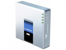 SIP адаптер Cisco SPA3102 (Linksys)