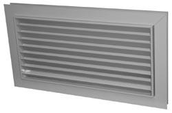 Решетка переточная вентиляционная АП 400х200