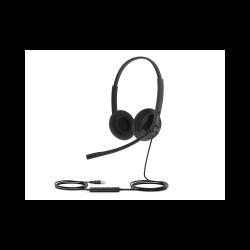 Гарнитура Yealink UH34 Lite Dual UC Дуо, Проводная, HD звук, USB