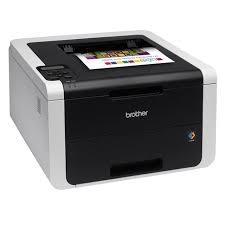 Принтер Brother HL-3170CDW, цветной светодиодный, A4, 22стр/мин, 128Мб, дуплекс, LAN, WiFi, USB (ста