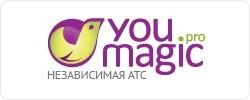 Виртуальная АТС YouMagic.Pro. ТП «Простой»: 1 городской номер Санкт-Петербурга + 5 номеров для сотру