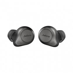 Наушники беспроводные Jabra Elite 85t, титановый/чёрный