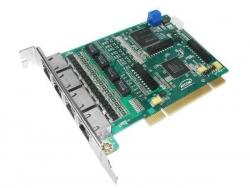 Плата для Asterisk Atcom AX-4D (4 потока Е1) с эхокомпенсацией
