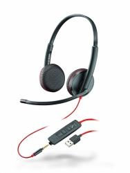 BlackWire C3225-A - проводная гарнитура (стерео, jack 3.5/USB-A)