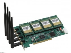 Плата для IP ATC Atcom AX-4G (4 канала GSM)